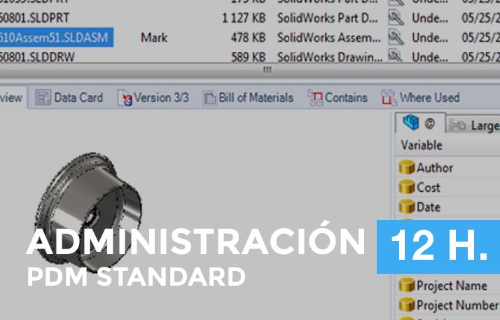 formación en PDM standard administración en Galicia