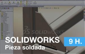 Formación de pieza soldada en Easyworks