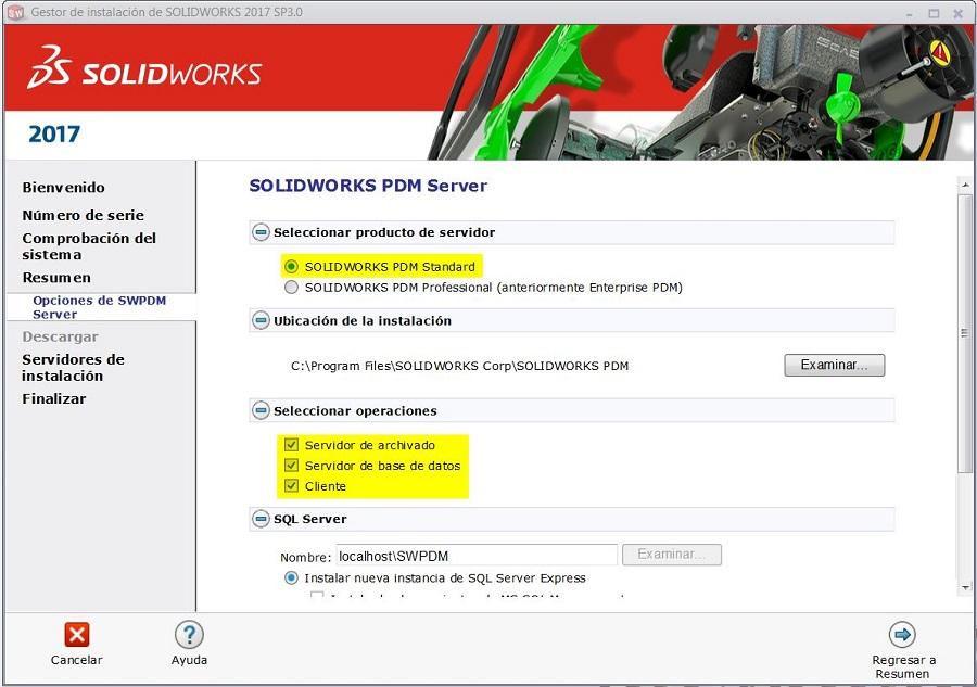 solidworks pdm server