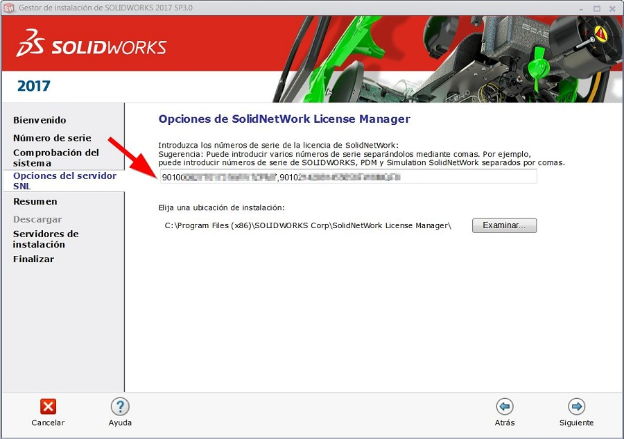 Solidworks licence manager