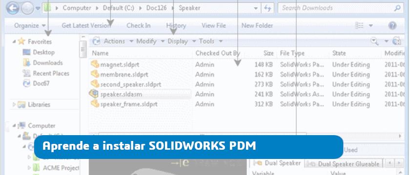 instalar solidworks pdm