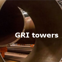 Gri towers con SOLIDWORKS