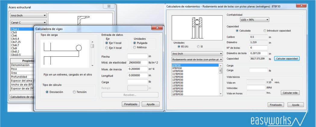 herramientas para el cálculo de vigas