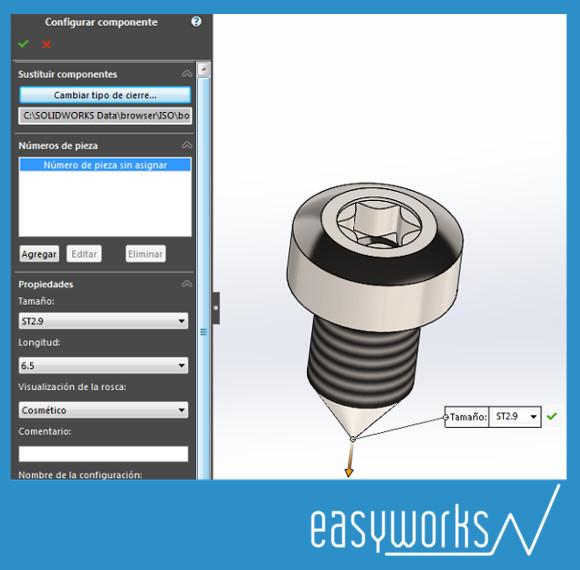 tornillo autorroscante ISO 14585C