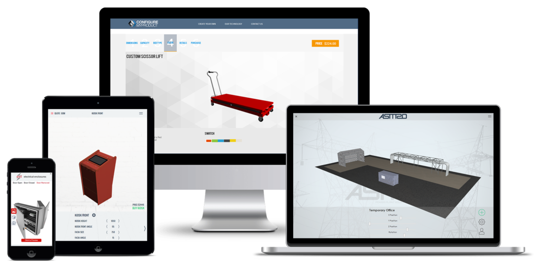 configurar tu producto con distintos diseños