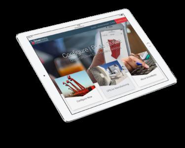 Driveworks configurador de ventas en ipad