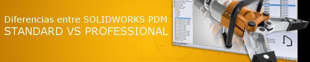 funcionalidades de PDM gestión de datos de SOLIDWORKS