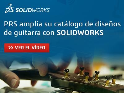 Caso de éxito de SOLIDWORKS con guitarras