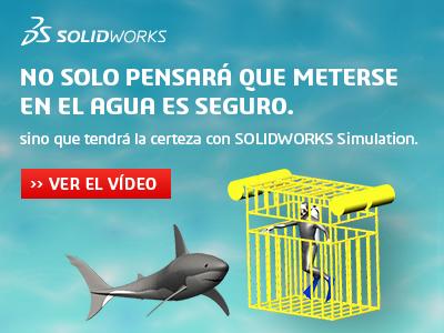 Solidworks simulation simulación con tiburones