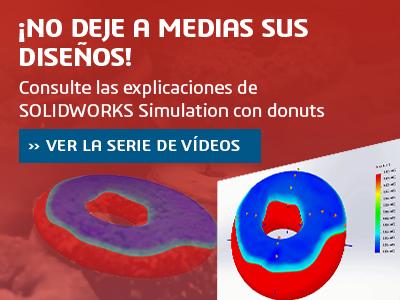 Simulación explicada con un donut para SOLIDWORKS simulation