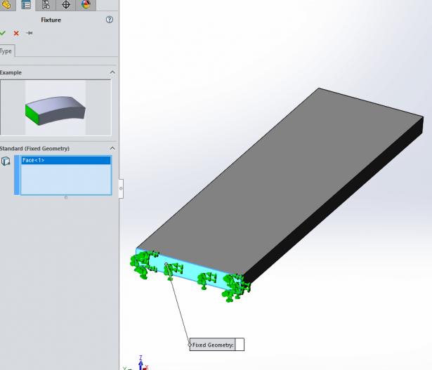 aplicar sujeciones en simulation xpress