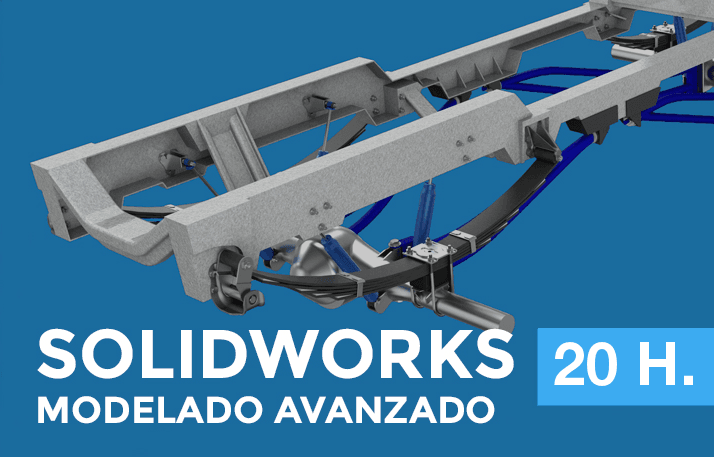 curso avanzado de solidworks para modelar piezas
