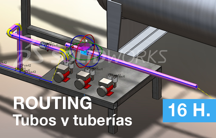 curso de routing en solidworks