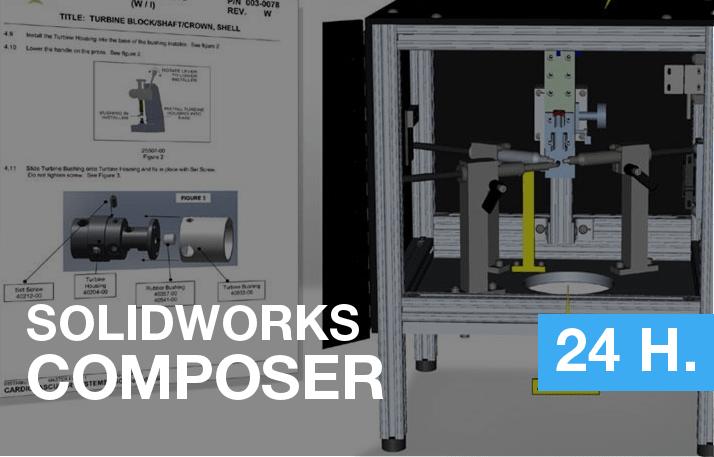 formación de solidworks composer manuales de fabricación