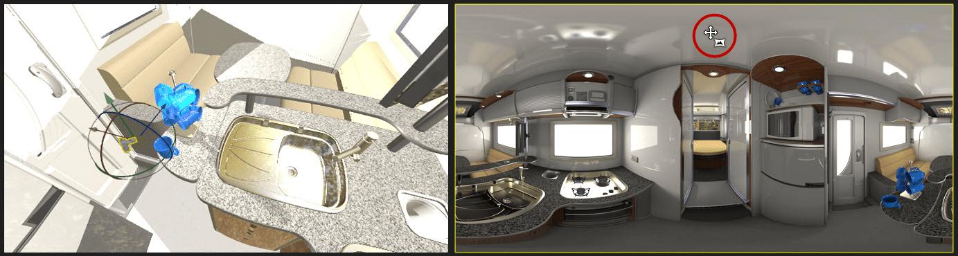 cómo crear imágenes de realidad virtual