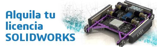 licencias de alquiler solidworks