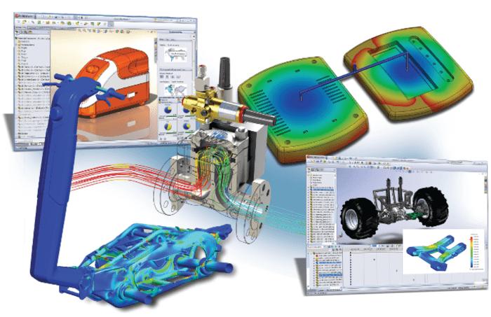 tipos de estudios en solidworks simulation