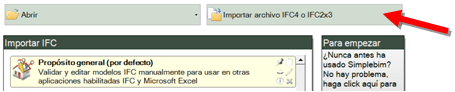 BIM - Importar archivo IFC