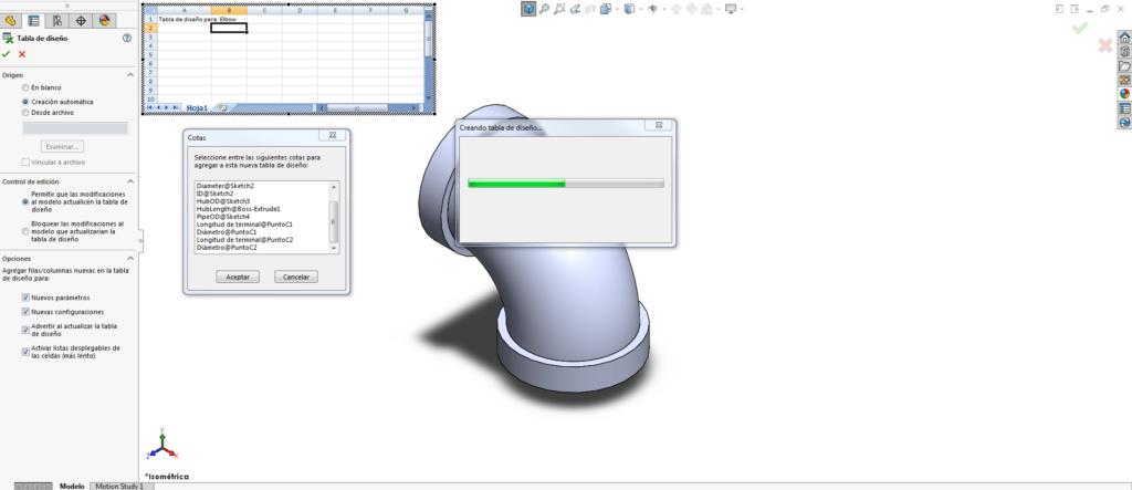 parámetros configurables del archivo