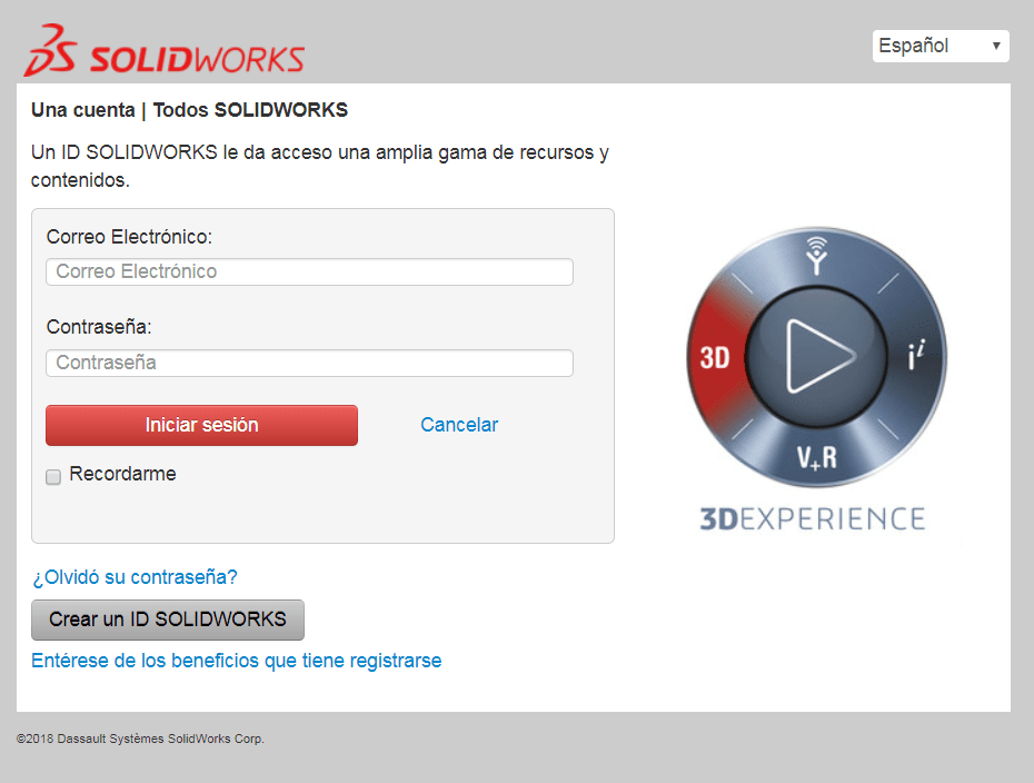 acceso a customer portal de Solidworks