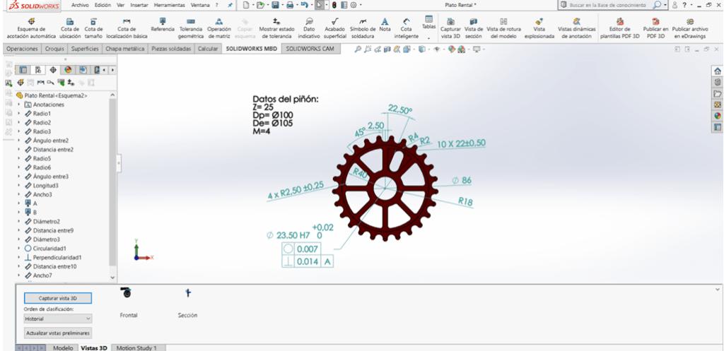 Qué es SOLIDWORKS MBD y cómo exporto a PDF 3D? - Easyworks
