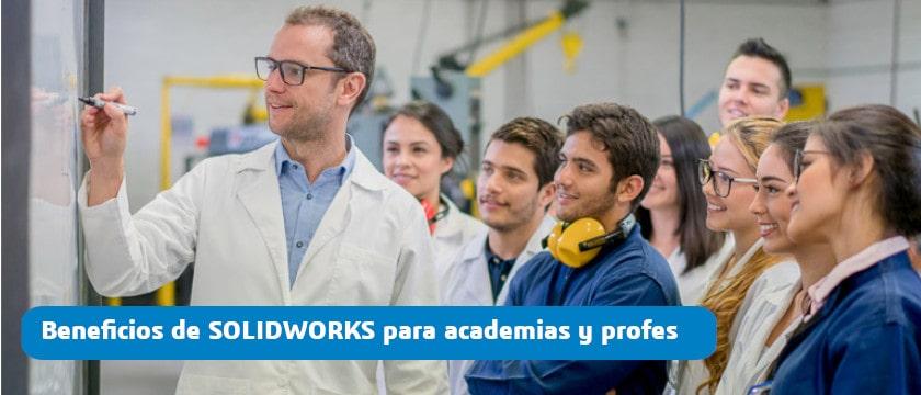 solidworks para academias y profesores