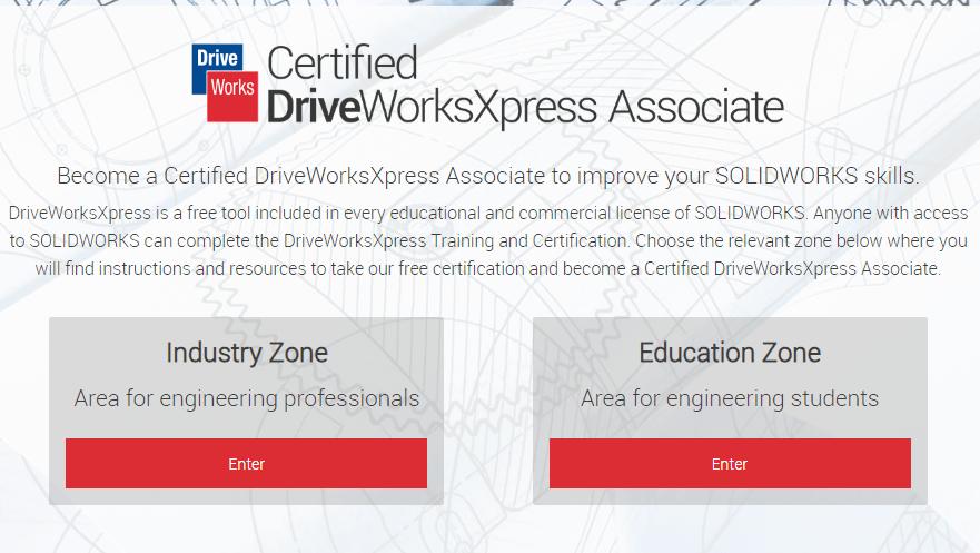 certificarse en driveworks