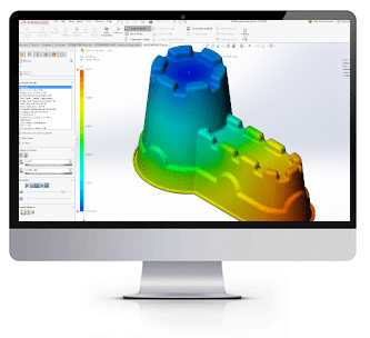 solidworks simulation plastics