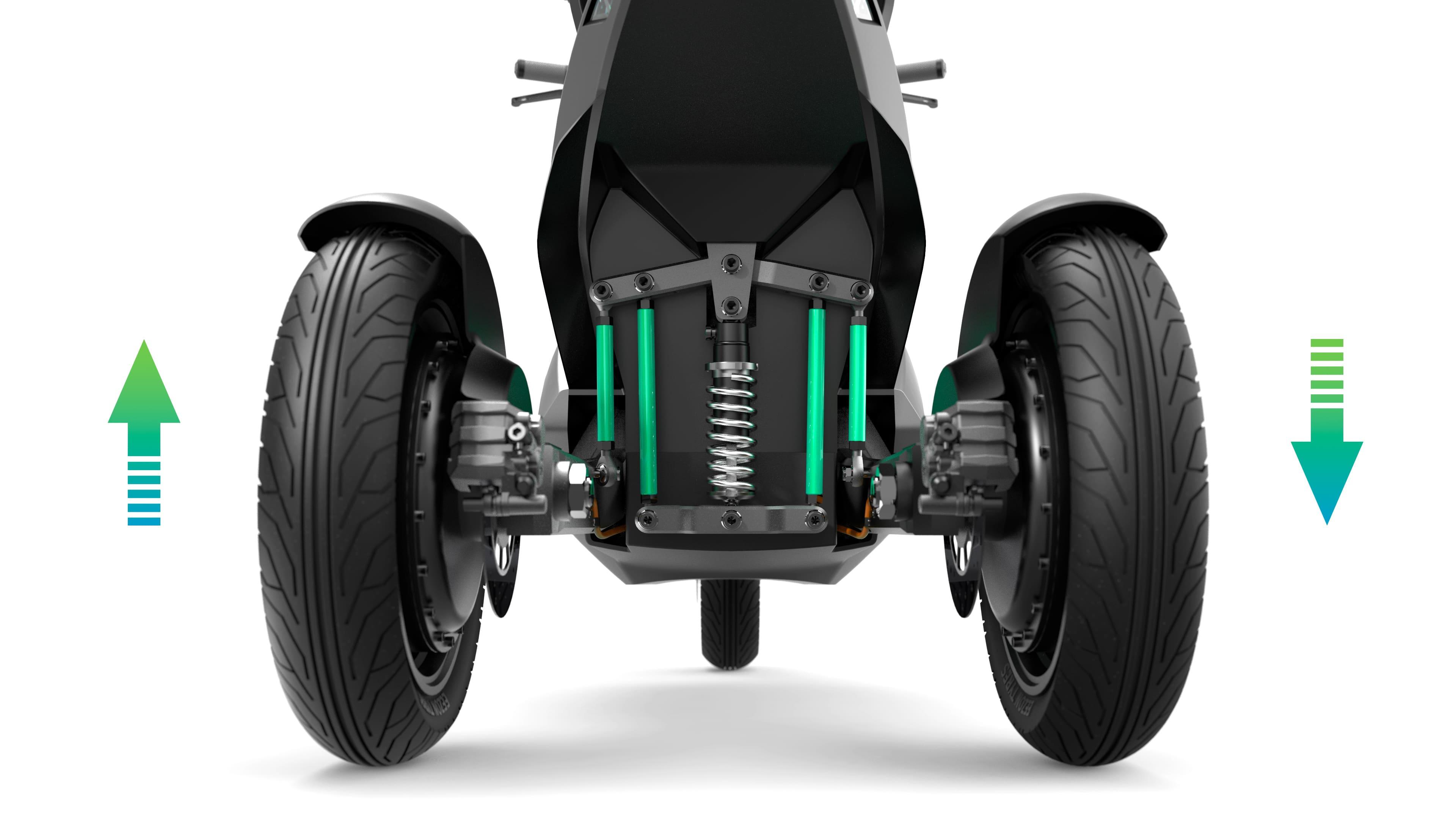 vechículo eléctrico VMS automotive
