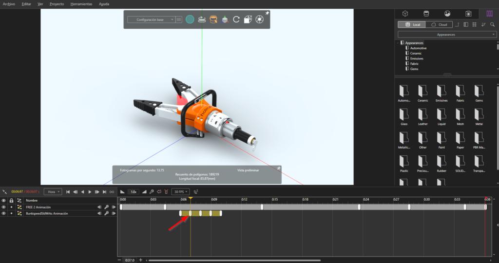 animaciones Visualize