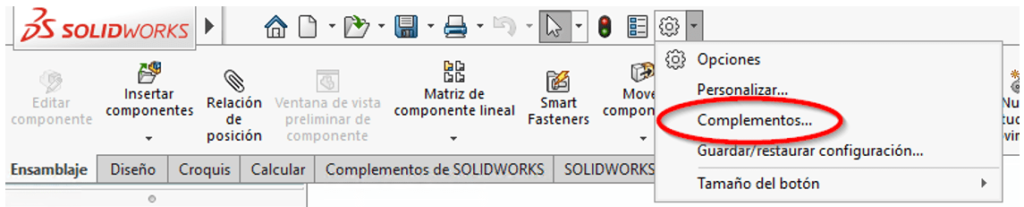 complementos solidworks