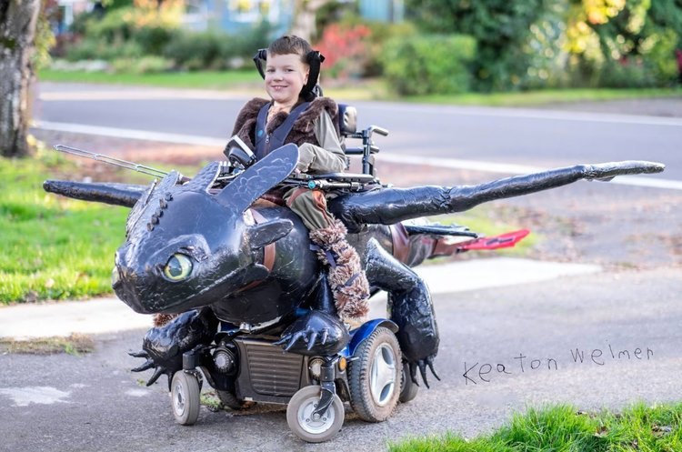 Magic Wheelchair Keaton Weimer