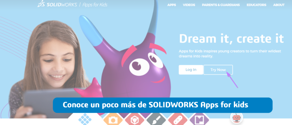 SOLIDWORKS APPS FOR KIDS