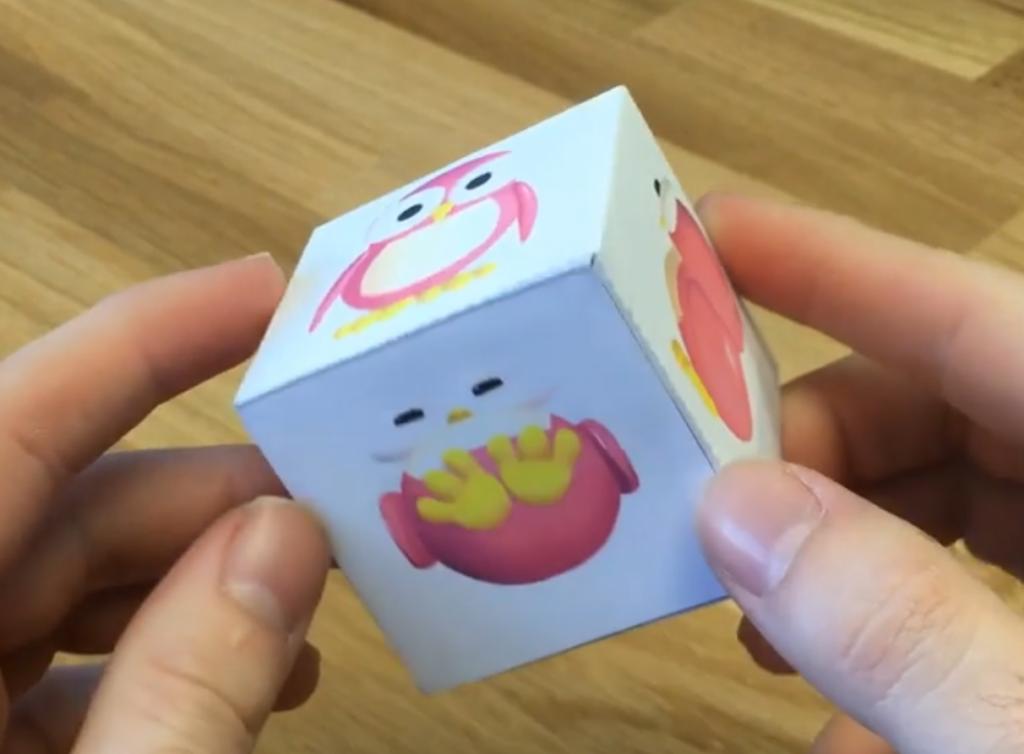 cubo para imprimir