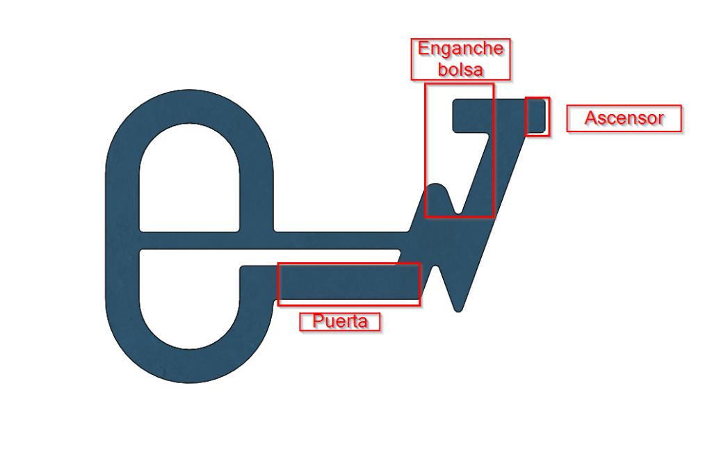 Easykey diseñada con SOLIDWORKS