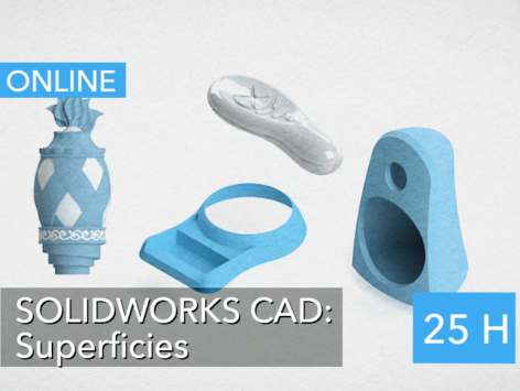 Experto SOLIDWORKS CAD Superficies.
