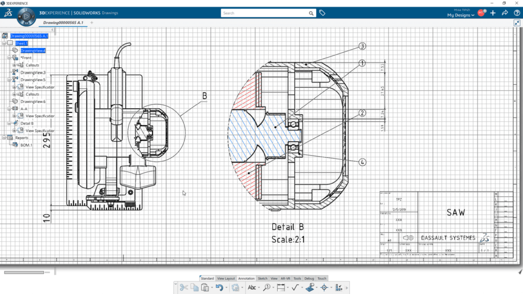 drafter solidworks 3dexperience